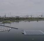 Schade drijvende zonnepanelen Slag Baardmannetje