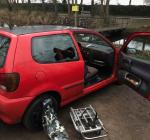 Auto-inbraak op parkeerplaats Spiegelplas