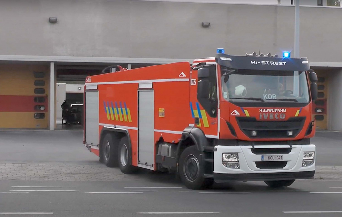 Man zwaargewond bij brand tijdens vullen van perslucht in België