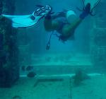 De onderwater begraafplaats voor sportduikers