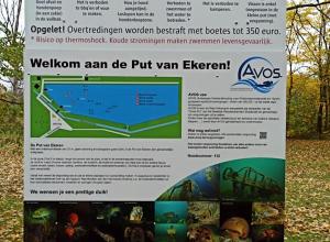 Nieuw informatiebord Put van Ekeren