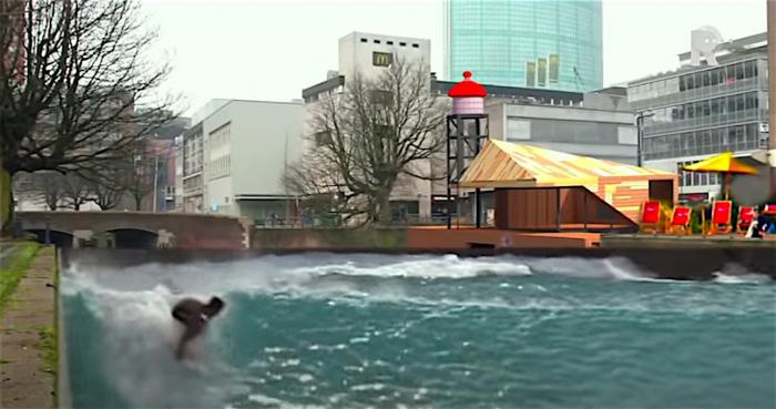 Sportduiken in centrum Rotterdam laat nog op zich wachten