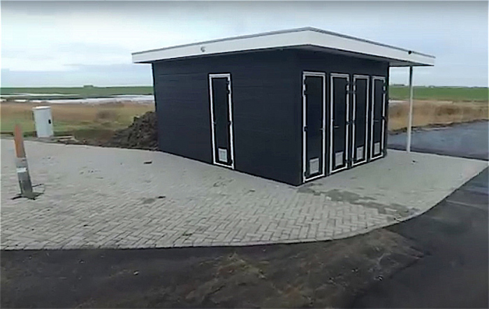 Voorzieningengebouw Zeelandbrug gesloten wegens vandalisme