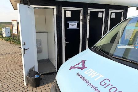 Vernielde toiletten Zeelandbrug zijn hersteld