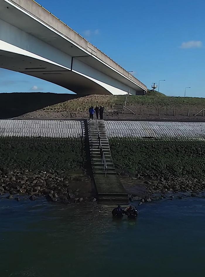 Komend duikverbod Zeelandbrug geldt niet in weekend