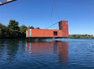Nieuwe containerwrakken in Boschmolenplas
