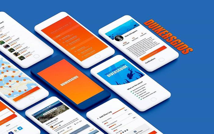 Voorproefje nieuwe Duikersgids app
