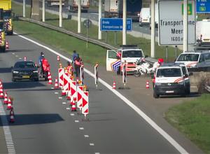Grens met België gedeeltelijk weer open