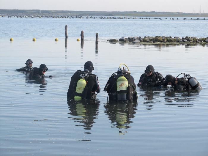 Hervatting duiksport Nederland en Belgë