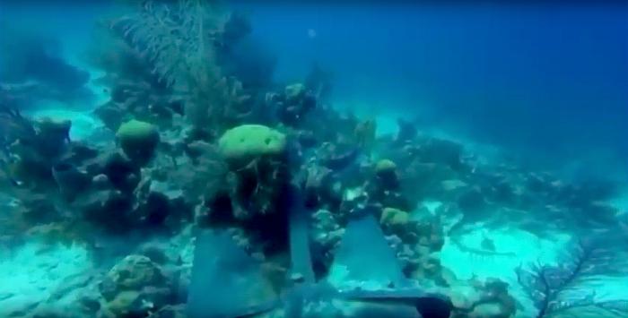 Luxe jacht beschadigt duikplaats Aquarium in Belize