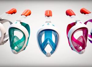 Decathlon stopt verkoop snorkelmasker. Gereserveerd voor ziekenhuizen