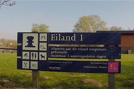 Negatief zwemadvies Eiland 1