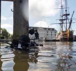 Succesvolle duikexpeditie Amsterdamse grachten