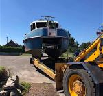 Nieuw bootwrak in de Boschmolenplas