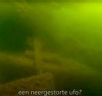 De neergestorte UFO van de Ouderkerkerplas