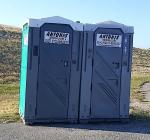 Mobiele toiletten weer geplaatst bij Bergse Diepsluis