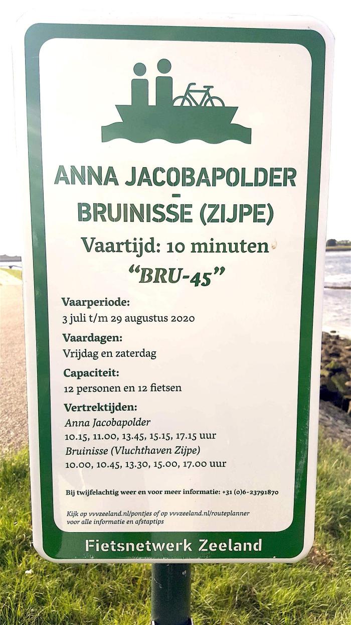 Veer Anna Jacobapolder weer in de vaart