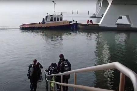 Niet duiken bij Zeelandbrug op dinsdagochtend