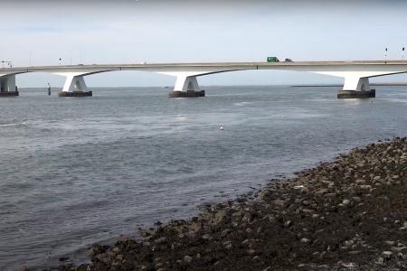 Tijdelijk duikverbod Zeelandbrug in september