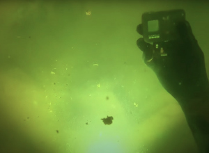 Duiker vindt GoPro 8 terug met Zoeken in Duikersgids Logberichten