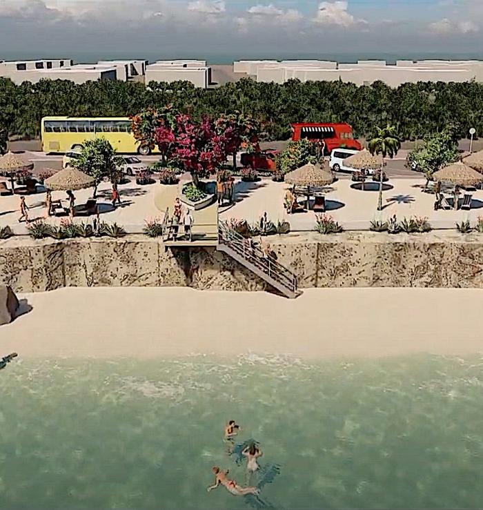 Bachelor's Beach wordt mooier en toegankelijker