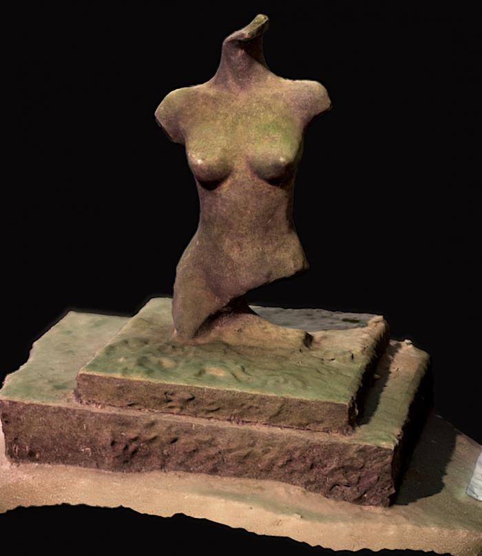 Wat te doen met de besmeurde buste in de Put van Ekeren?