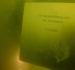 Gedenkplaat voor Jan Vermeeren bij Vuilnisbelt