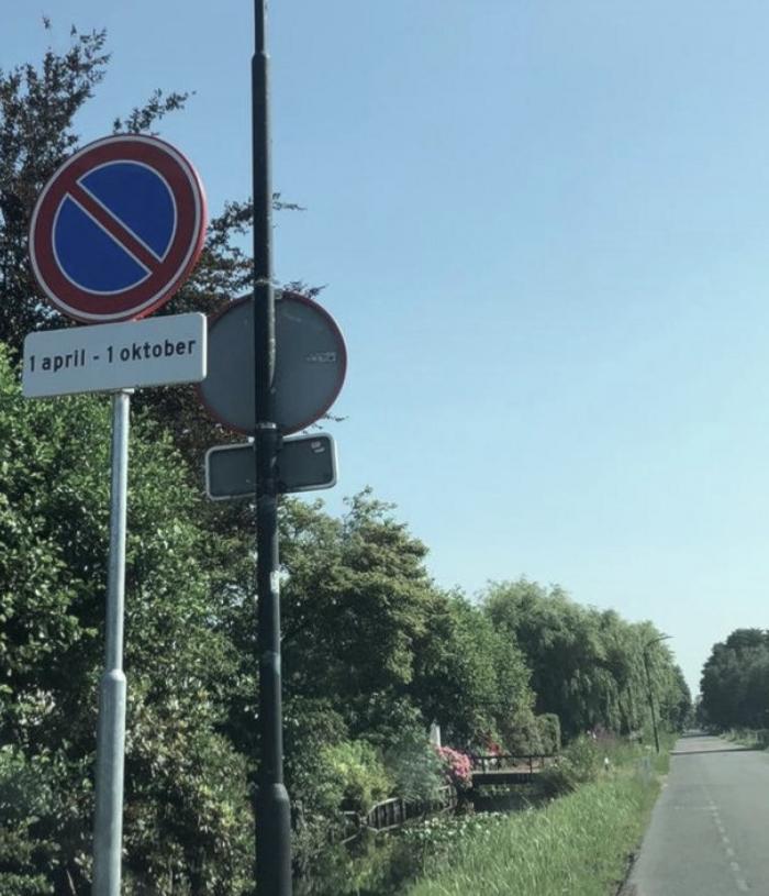 Parkeerverbod Baambrugse Zuwe in Vinkeveen