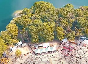 Ploegendienst Festival Galderse Meren. Even niet duiken!