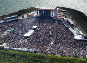 Duiken tijdens Concert at Sea
