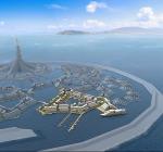 Nieuwe stad is drijvend experiment voor ideeën van de toekomst
