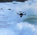 De drone die kan vliegen en duiken