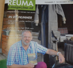 Interview Reuma Magazine over opzienbarend herstel Harry Beekelaar