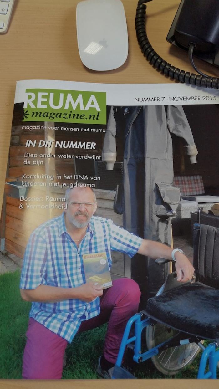 Interview Reuma Magazine over opzienbarend herstel Harry Beekelaar