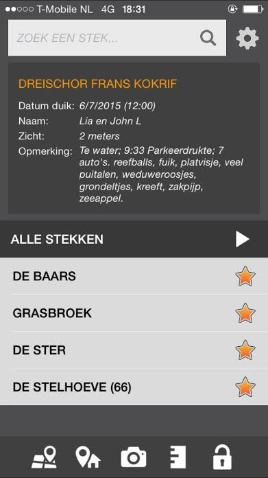 Nieuwe update Duikersgids app