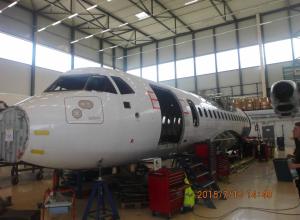 Nieuw vliegtuigwrak in Gasometer