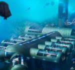 Het verplaatsbare onderwaterhotel