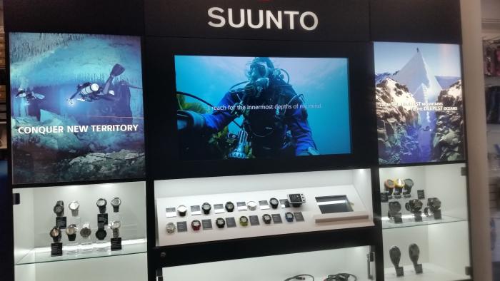 Suunto Experience Center open bij SubLub
