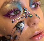 Make-up artist veroorzaakt ophef op internet. Afgrijselijk of avant-garde?
