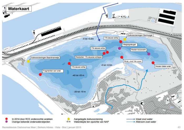 Oostvoornse Meer wordt mogelijk onderwatermuseum